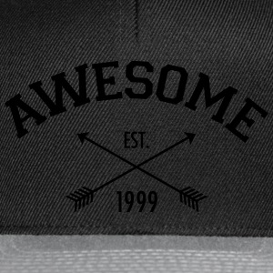 Awesome Est 1999 T-Shirts - Snapback Cap