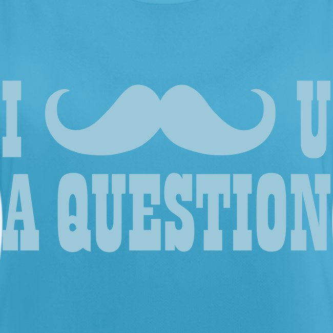 I Moustache You A Question Mens T-Shirt