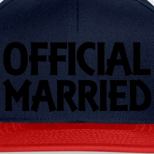 Official married T-Shirts - Snapback Cap