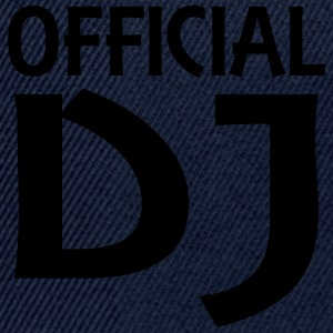 Official DJ T-shirts - Snapback Cap