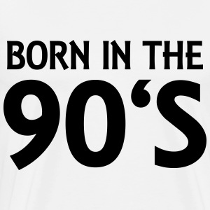 Born in the 90's Langærmede t-shirts - Herre premium T-shirt