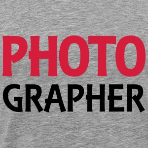 Photographer Sweat-shirts - T-shirt Premium Homme