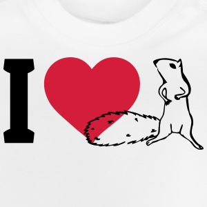 I love Squirrels Shirts - Baby T-Shirt