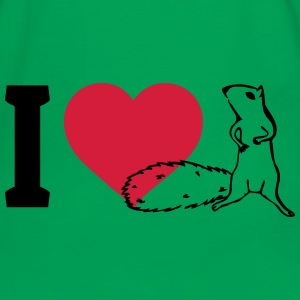 I love Squirrels Bags & Backpacks - Men's Ringer Shirt