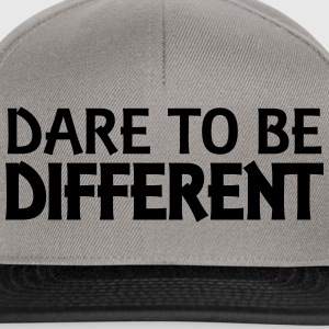 Dare to be different Hoodies & Sweatshirts - Snapback Cap