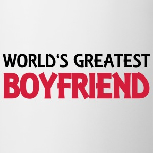 World's greatest boyfriend Magliette - Tazza