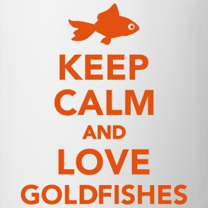 Keep calm and  love goldfishes T-Shirts - Tasse