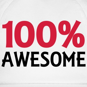 100% Awesome Camisetas - Gorra béisbol