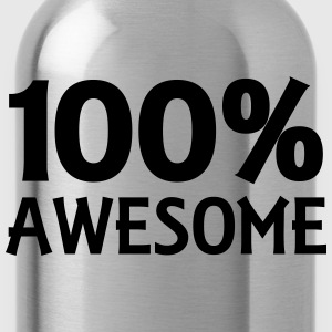 100% Awesome Tee shirts - Gourde