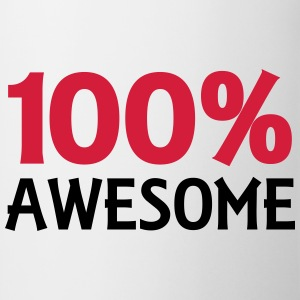 100% Awesome Toppe - Kop/krus