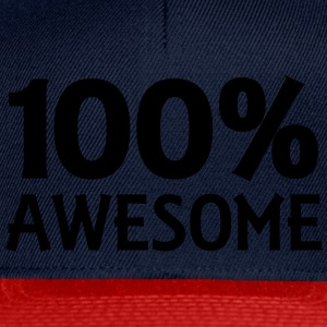 100% Awesome Top - Snapback Cap