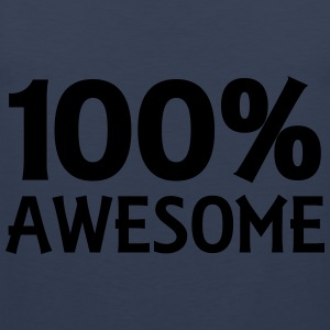 100% Awesome Toppe - Herre Premium tanktop