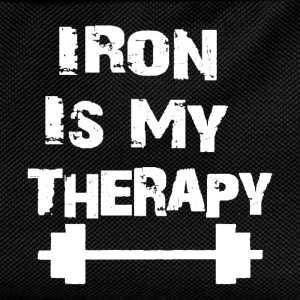 Iron Is My Therapy - Sac à dos Enfant