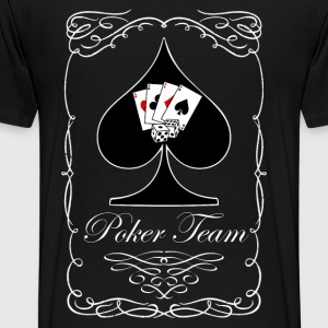 poker team 01 Sweat-shirts - T-shirt Premium Homme