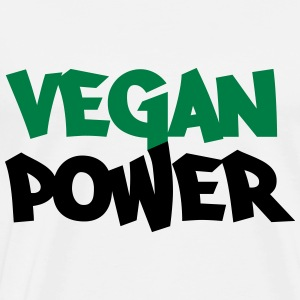 Vegan Power Tops - Men's Premium T-Shirt