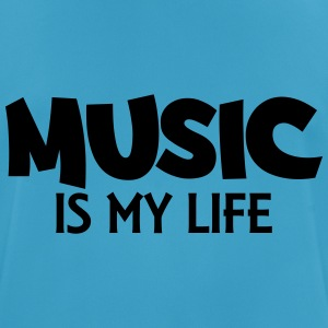 Music is my life Débardeurs - T-shirt respirant Homme
