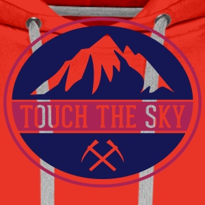 TOUCH THE SKY T-Shirts - Männer Premium Hoodie