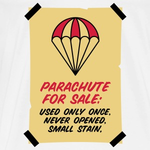 Parachute for sale. Only once opened! Bags & Backpacks - Men's Premium T-Shirt