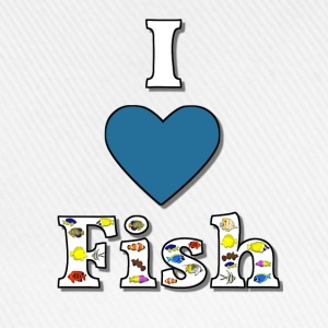 I love fish 1 T-Shirts - Baseball Cap
