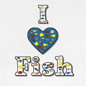 I love fish 2 T-Shirts - Baseball Cap