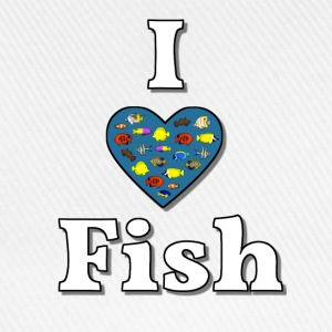 I love fish 3 T-Shirts - Baseball Cap
