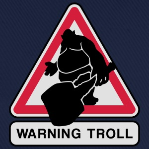 warning troll Tee shirts - Casquette classique