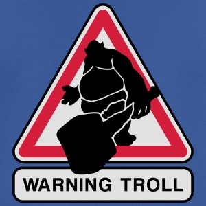 warning troll Hoodies & Sweatshirts - Men's Breathable T-Shirt