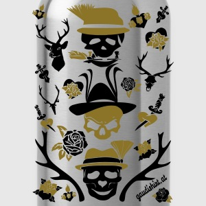 alpen skull.svg T-Shirts - Water Bottle