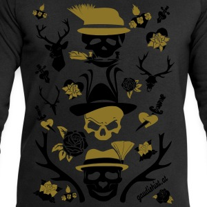 alpen skull.svg T-Shirts - Men's Sweatshirt by Stanley & Stella