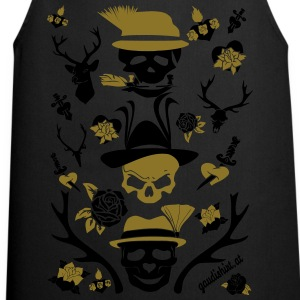alpen skull.svg T-Shirts - Cooking Apron