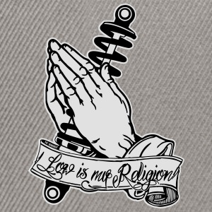 Praying Hands Coilover 2 Pullover & Hoodies - Snapback Cap