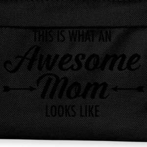 This Is What An Awesome Mom Looks Like T-Shirts - Kids' Backpack