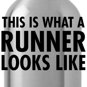 This Is What A Runner Looks Like T-shirts - Vattenflaska