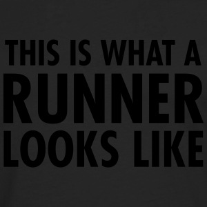 This Is What A Runner Looks Like T-shirts - Långärmad premium-T-shirt herr