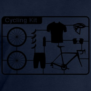 cycling Kid T-Shirts - Men's Sweatshirt by Stanley & Stella