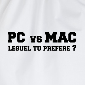 PC vs MAC Tee shirts - Sac de sport léger