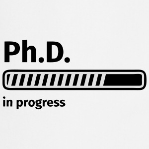 Ph.D. progress bar Magliette - Grembiule da cucina