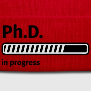 Ph.D. progress bar Tee shirts - Bonnet d'hiver