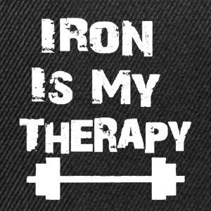 Iron Is My Therapy - Casquette snapback