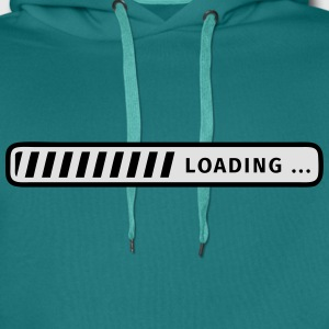 status bar T-Shirts - Men's Premium Hoodie