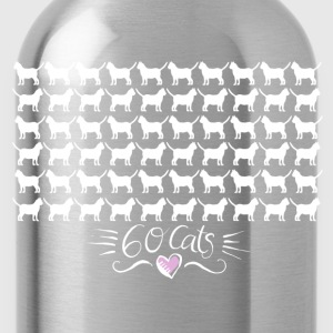 60 Cats Tops - Trinkflasche