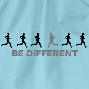 be different laufen T-Shirts - Turnbeutel