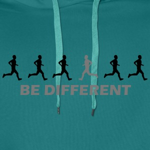 be different laufen T-Shirts - Männer Premium Hoodie