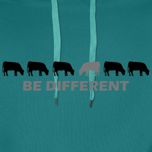 be different kuh T-Shirts - Männer Premium Hoodie