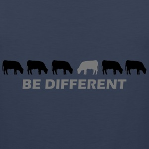 be different kuh T-Shirts - Männer Premium Tank Top
