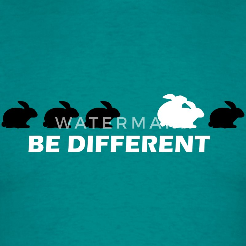 be different hase fun T-Shirts - Männer T-Shirt