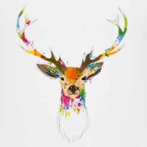 Hirsch Aquarell T-Shirts - Teenager Premium T-Shirt
