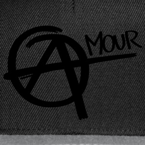 Anarchy - Amour Magliette - Snapback Cap