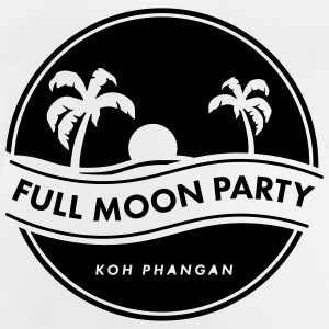 full moon party Langarmshirts - Baby T-Shirt