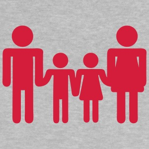 Family child parent icon 200315 Shirts - Baby T-Shirt